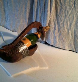 sabot porte bouteille