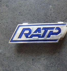 3 OBJETS RATP ANNEES 1940 - 1980