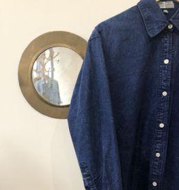 Chemise en jean avec motifs