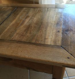 Table Basse noyer massif