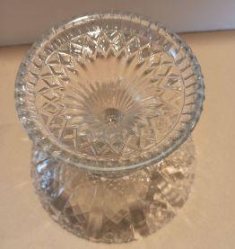 Coupe a friandises en verre moulé