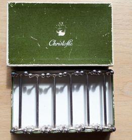 6 porte-couteaux Christophe