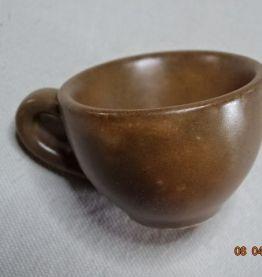 Petits verres à liqueur, eau de vie anciens tasses poterie M