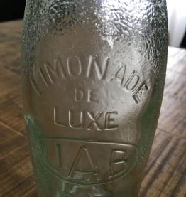 Bouteille ancienne limonade UAB