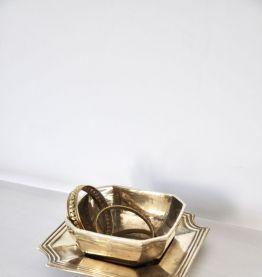 Vide poche 2 pièces en Bronze