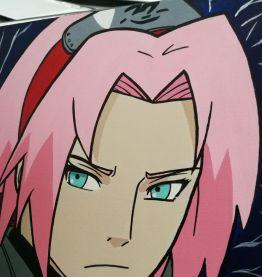 Cadre '' Sakura Naruto ''