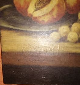 Tableau huile signé