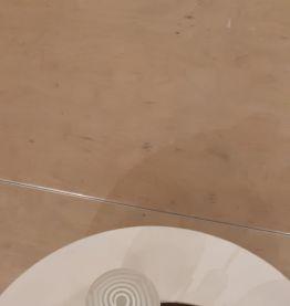 Lustre 3 boules zébrées