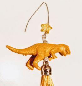 Boucles d'oreilles dinosaure , boucles d'oreilles Tyrannosau