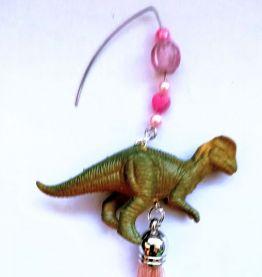 Boucles d'oreilles dinosaure , boucles d'oreilles Vélocirapt