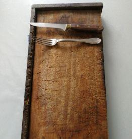 Planche à découper vintage