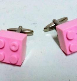 boutons de manchette avec briques Lego® multicolores, brique