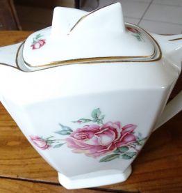 Ensemble café porcelaine Art Déco