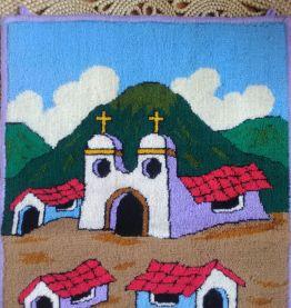 Tapisserie murale (Amérique du sud)