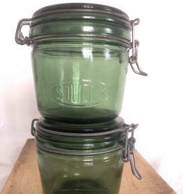 Paire de bocaux SOLIDEX - 1/2 litre