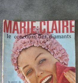 3 anciennes revues Marie-Claire 1960