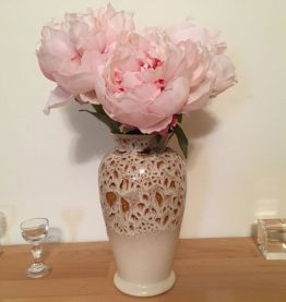 Vase Vintage de la Poterie Fosters des Cornouailles