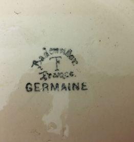 """Soupière / Légumier """"Germaine"""" de la Fabrique Française de B"""