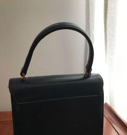 sac à main bleu nuit vintage