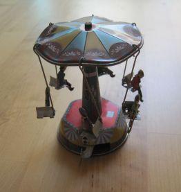 jouet mécanique en métal réédition