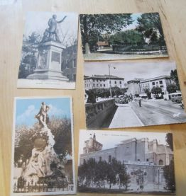 9 CARTES POSTALES ANCIENNES ALES GARD 30   (voir photos)