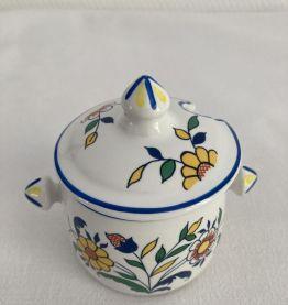 Moutardier porcelaine