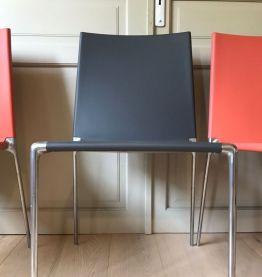 Lot de 4 chaises modèle Alma Roberto Barbieri B&B Italia
