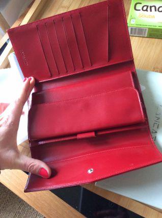 Portefeuille compagnon Lancaster rouge