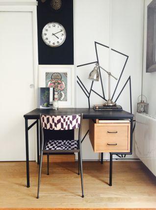 Bureaux moderniste années 50's style Paulin