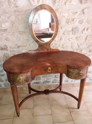 coiffeuse rognon style art d co luckyfind. Black Bedroom Furniture Sets. Home Design Ideas