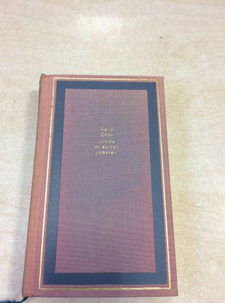 Livre de poésie de René Char