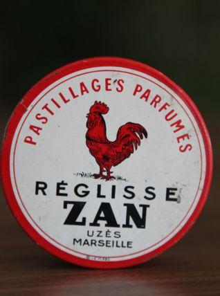 """Boite en metal """"REGLISSE ZAN"""""""