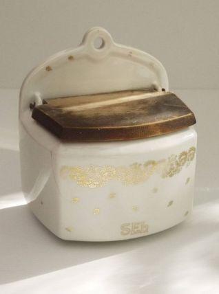 Boîte à sel en céramique