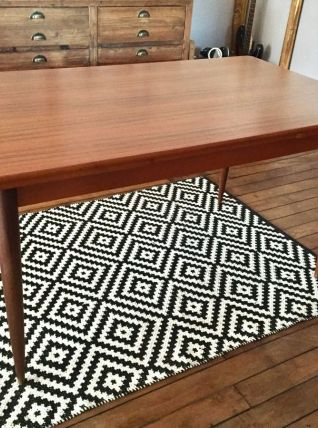 Table vintage scandinave des annees 60