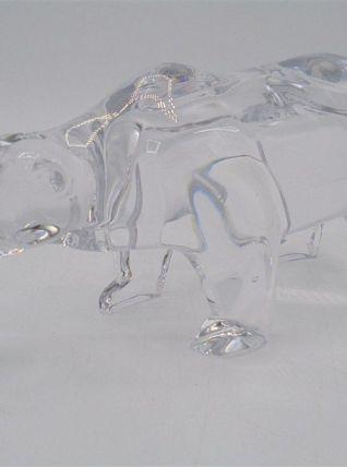 Ours en cristal