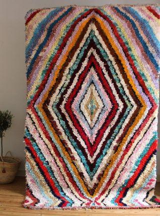 Grand tapis boucherouite (2M82 sur 1M70)