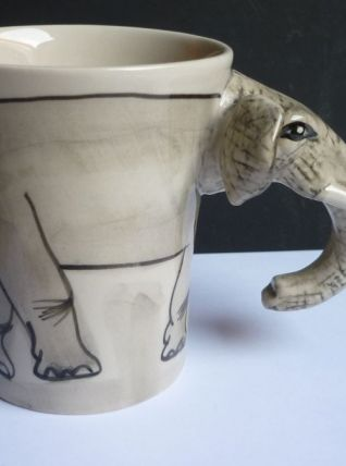 Mug tasse éléphant