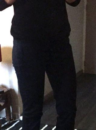 Pantalon droit bleu marine Marque Zara Taille 36