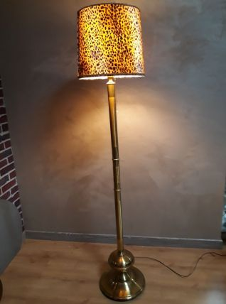 lampadaire panthere vintage 70s