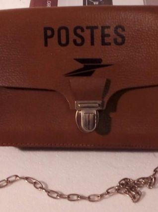 Superbe sacoche en cuir, parfait état, ancienne et vintage