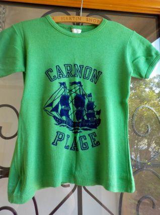 """Tshirts """"Carnon Plage"""" Vintage T0 / XS"""