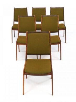 6 Chaises de salle à manger – Johannes Andersen