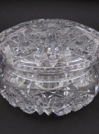 Bonbonnière en cristal