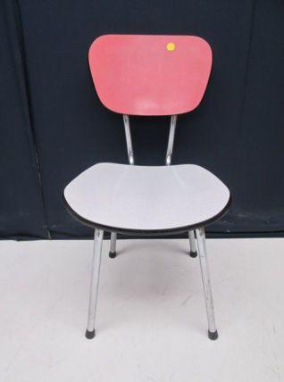 Série de 4 chaises en formica