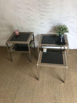 Table basse et tables gigognes vintage