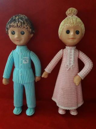 Nicolas et Pimprenelle figurine de  Bonne nuits les petits