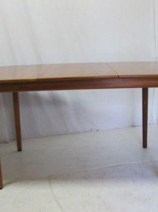 Table de Salle à manger en teck vintage