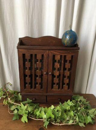 Armoire à épices en bois
