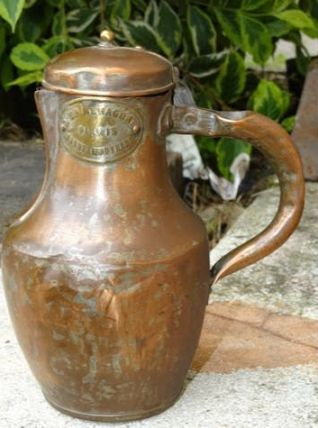 pichet coquemar eau vin ancien
