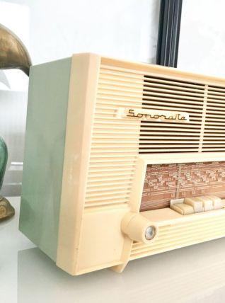 Poste de radio vintage mint